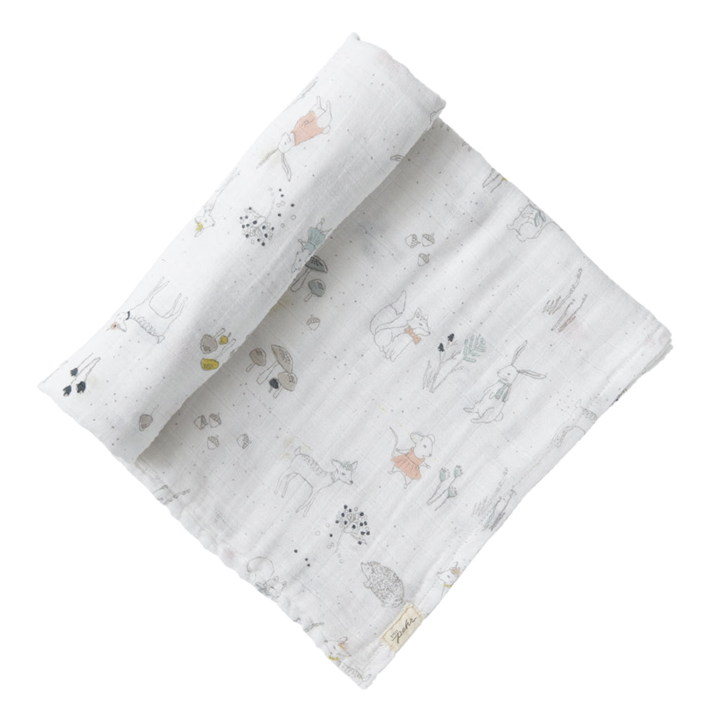 Petit Pehr - Magical Forest Swaddle Blanket | Mapamundi Kids