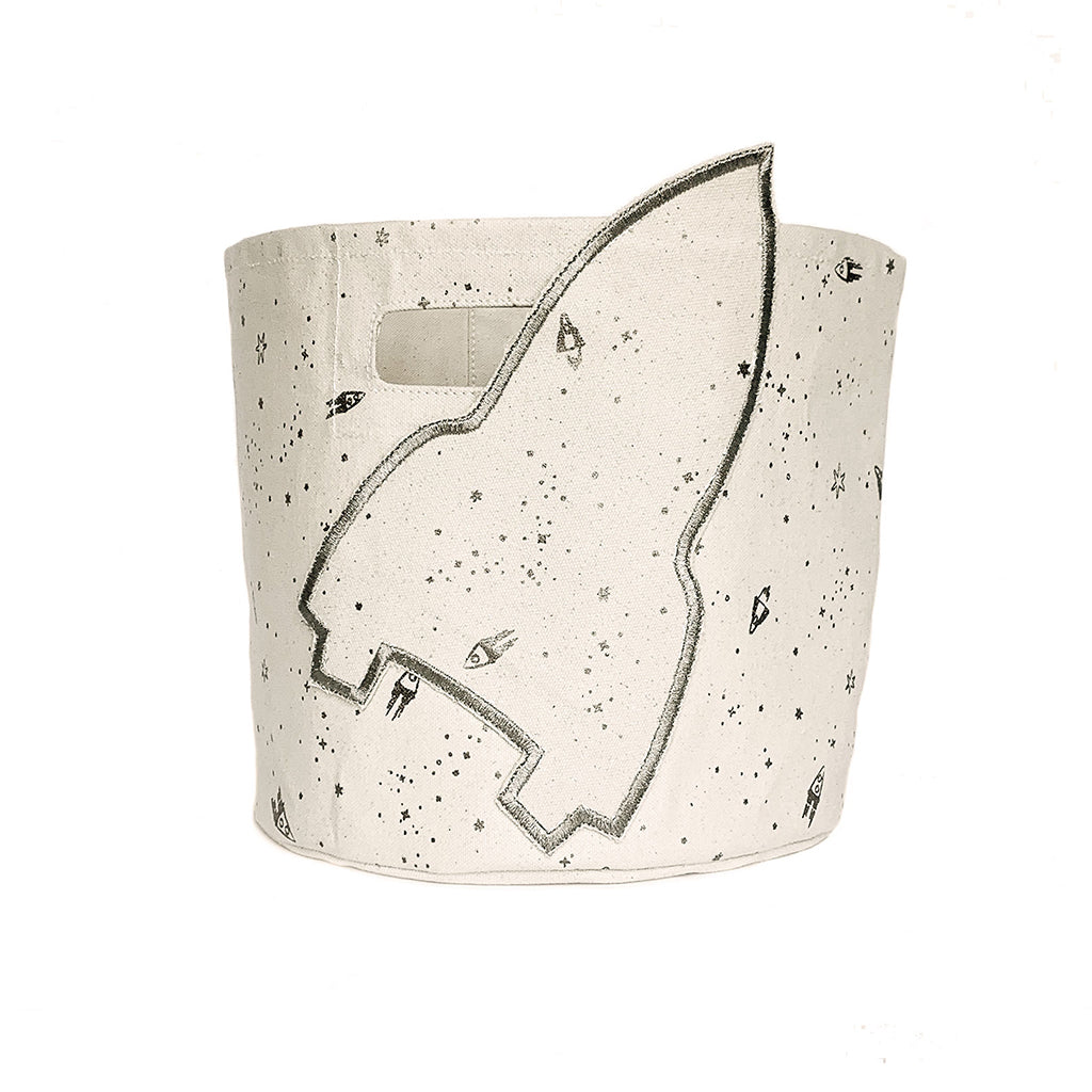 Petit Pehr - Space Printed Pint - Silver Rocketman | Mapamundi Kids