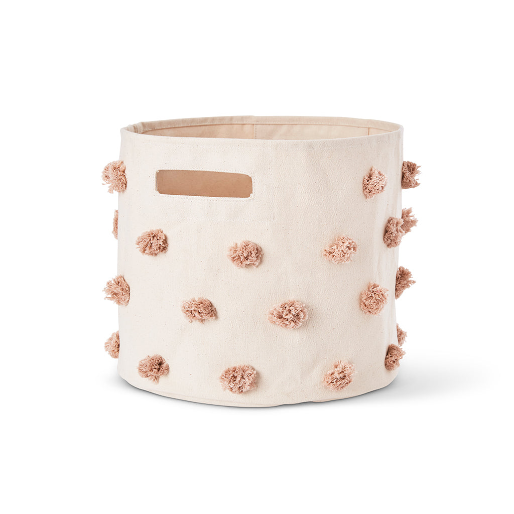 Petit Pehr - Pom Pom Mini Storage - Rose