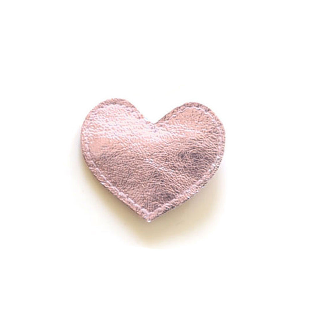 Hello Shiso - Big Pink Heart Hair Clip - Designed in Berkeley, CA