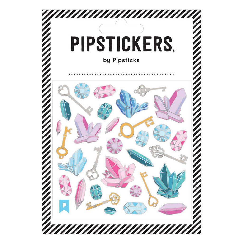 Pipsticks - Sticker Sheet - Key to the Treasure | Mapamundi Kids