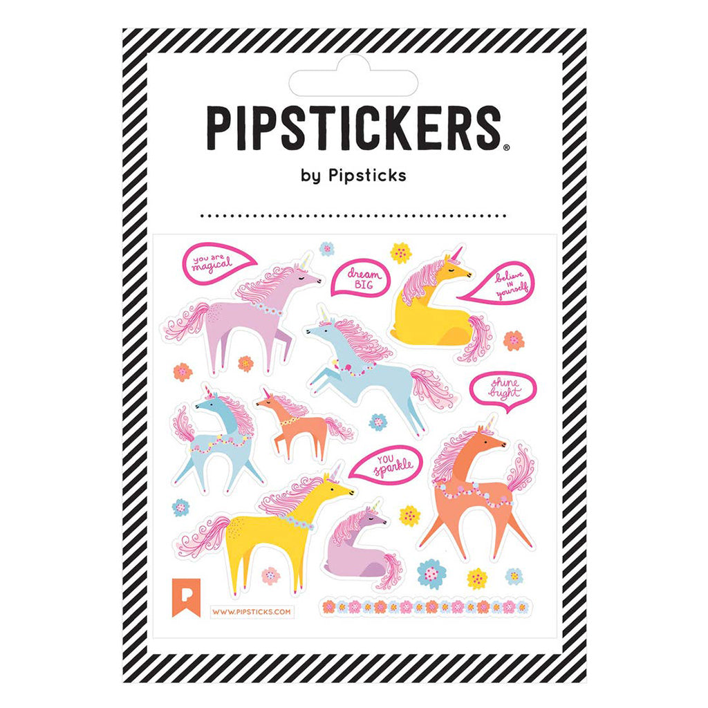 Pipsticks - Sticker Sheets Unique Corns Unicorns | Mapamundi Kids