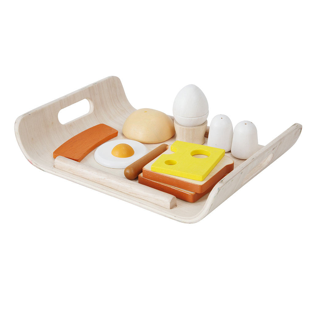 Plan Toys - Wooden Breakfast Menu