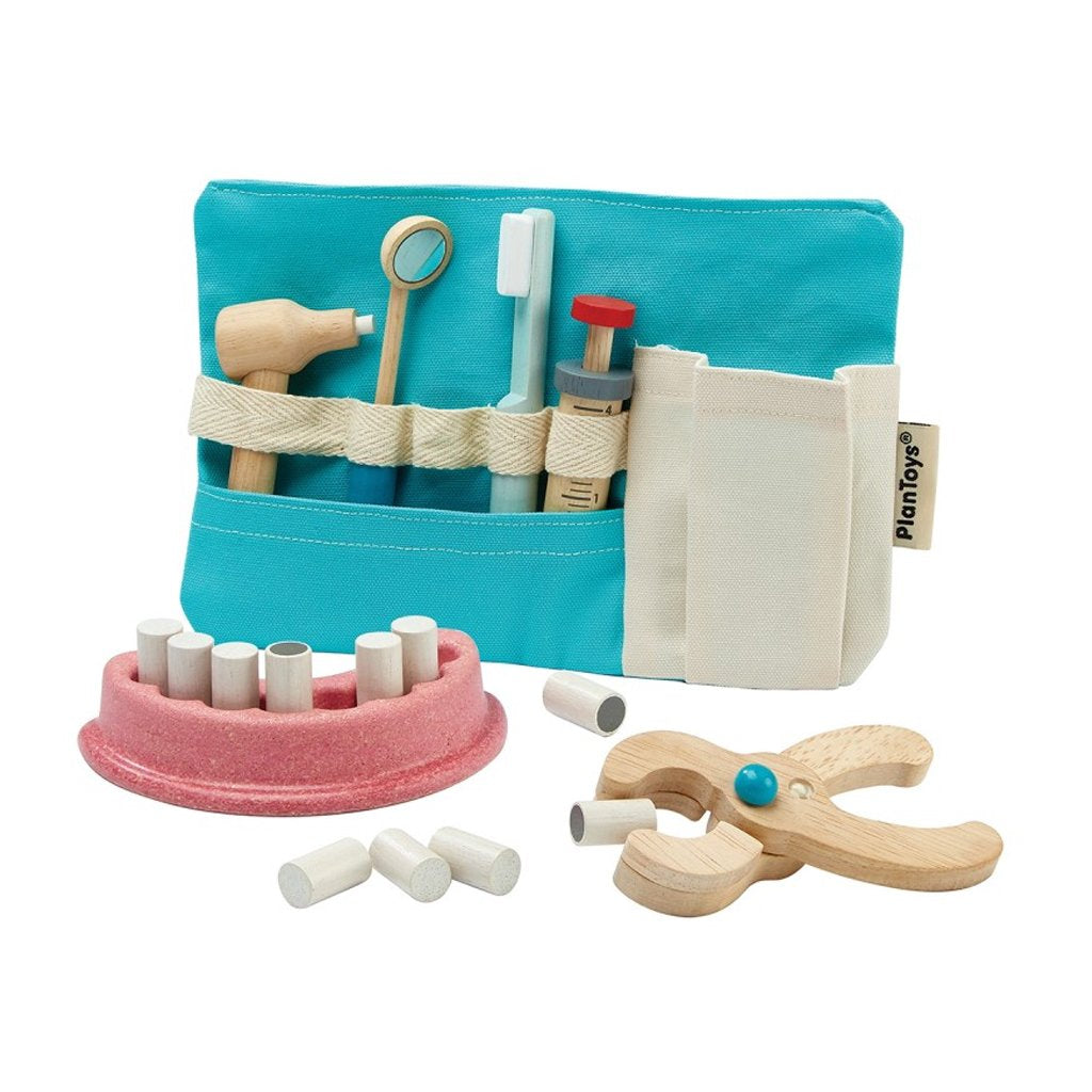 Plan Toys - Wooden Dentist Set