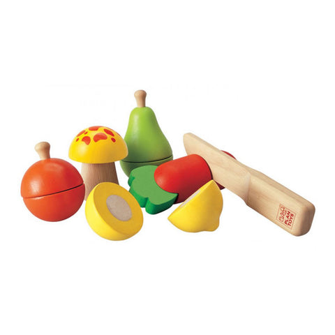 Plan Toys - Fruit and Vegetable Play Set