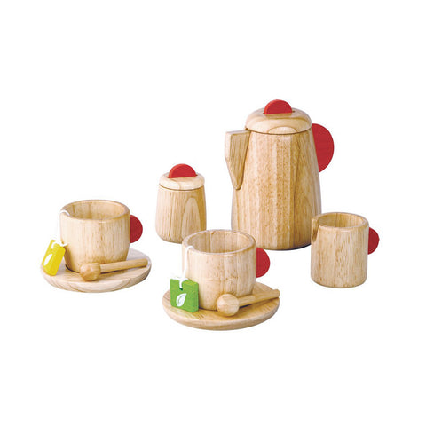 Plan Toys - Wooden Tea Set