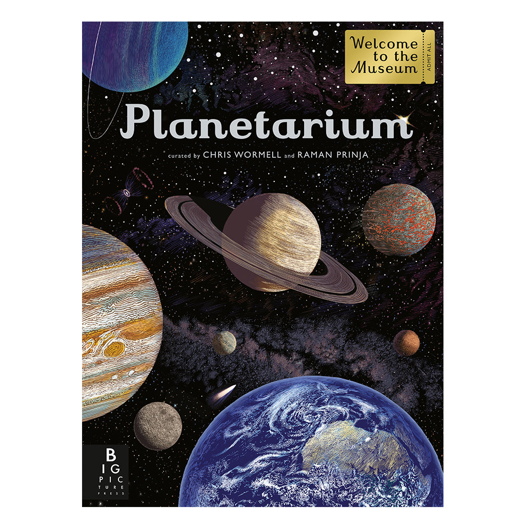 Planetarium - Curated by Chris Wormell & Raman Prinja | Mapamundi Kids