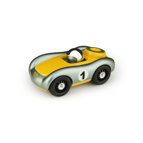 Playforever - Verve Viglietta Car - Gunmetal/Yellow