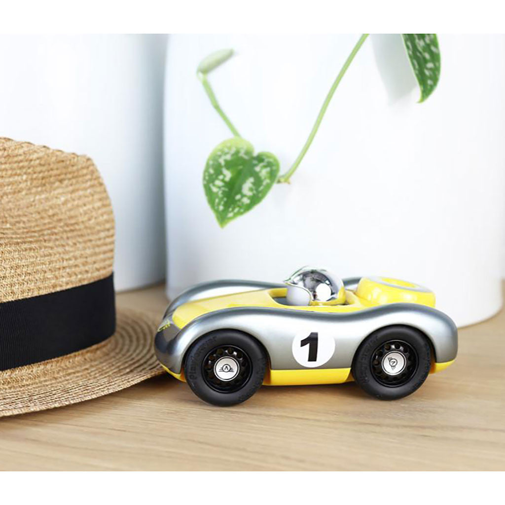 Playforever - Verve Viglietta Car - Gunmetal/Yellow - Lifestyle