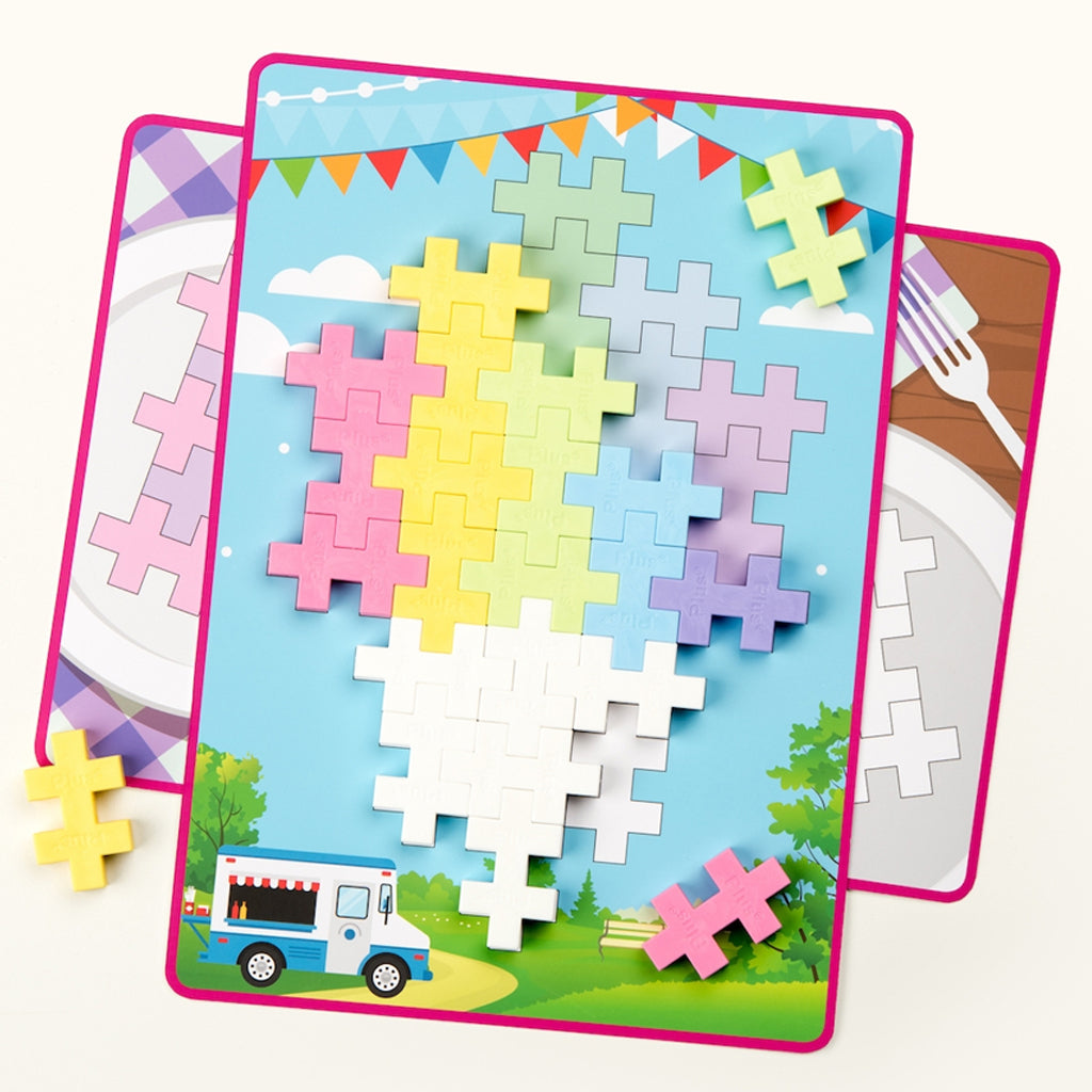 Plus Plus - Big Picture Puzzle 60 Pc - Pastel | Mapamundi Kids
