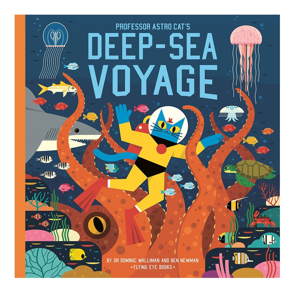 Professor Astro Cat's Deep Sea Voyage - Flying Eye Books | Mapamundi Kids