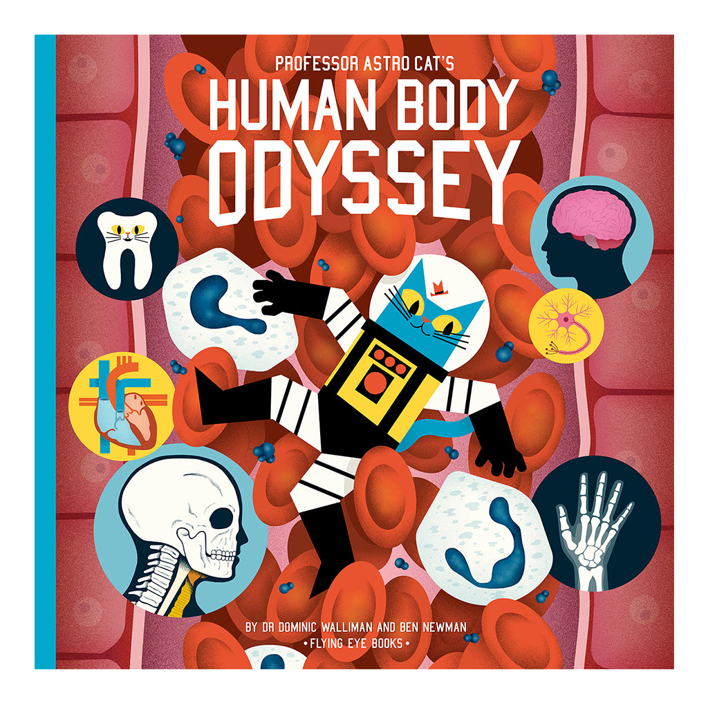 Flying Eye Books - Professor Astro Cat's Human Body Odyssey | Mapamundi Kids