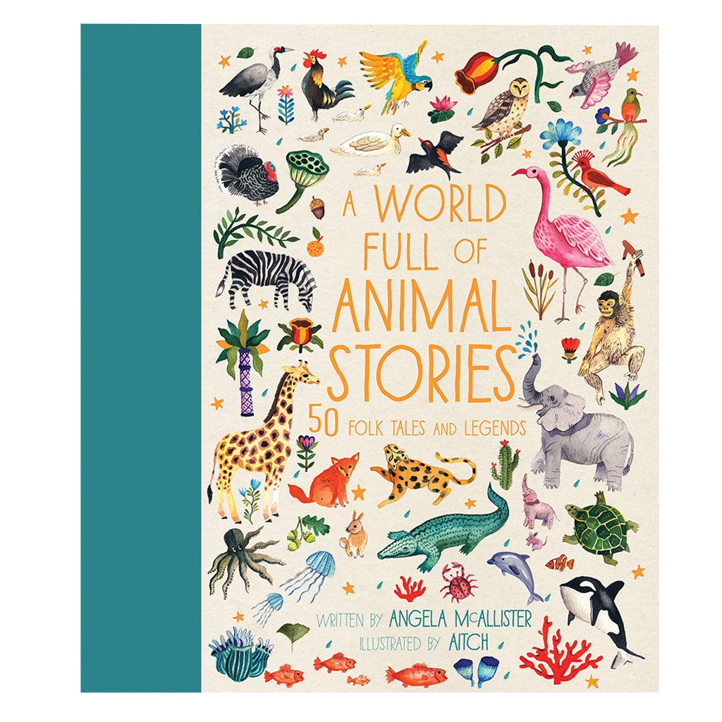 A World Full of Animal Stories by Angela McAllister | Mapamundi Kids