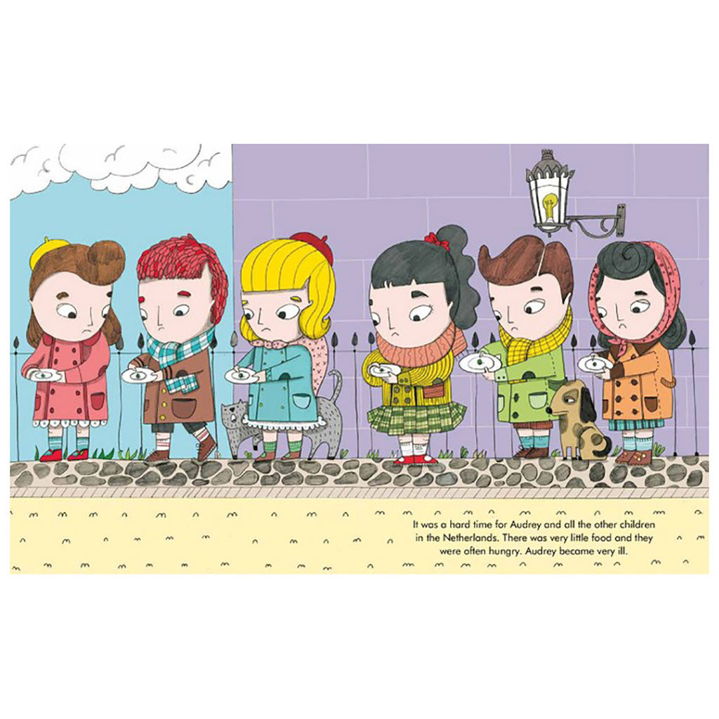 Francis Lincoln Children's Books - Little People, Big Dreams: Audrey Hepburn - Page