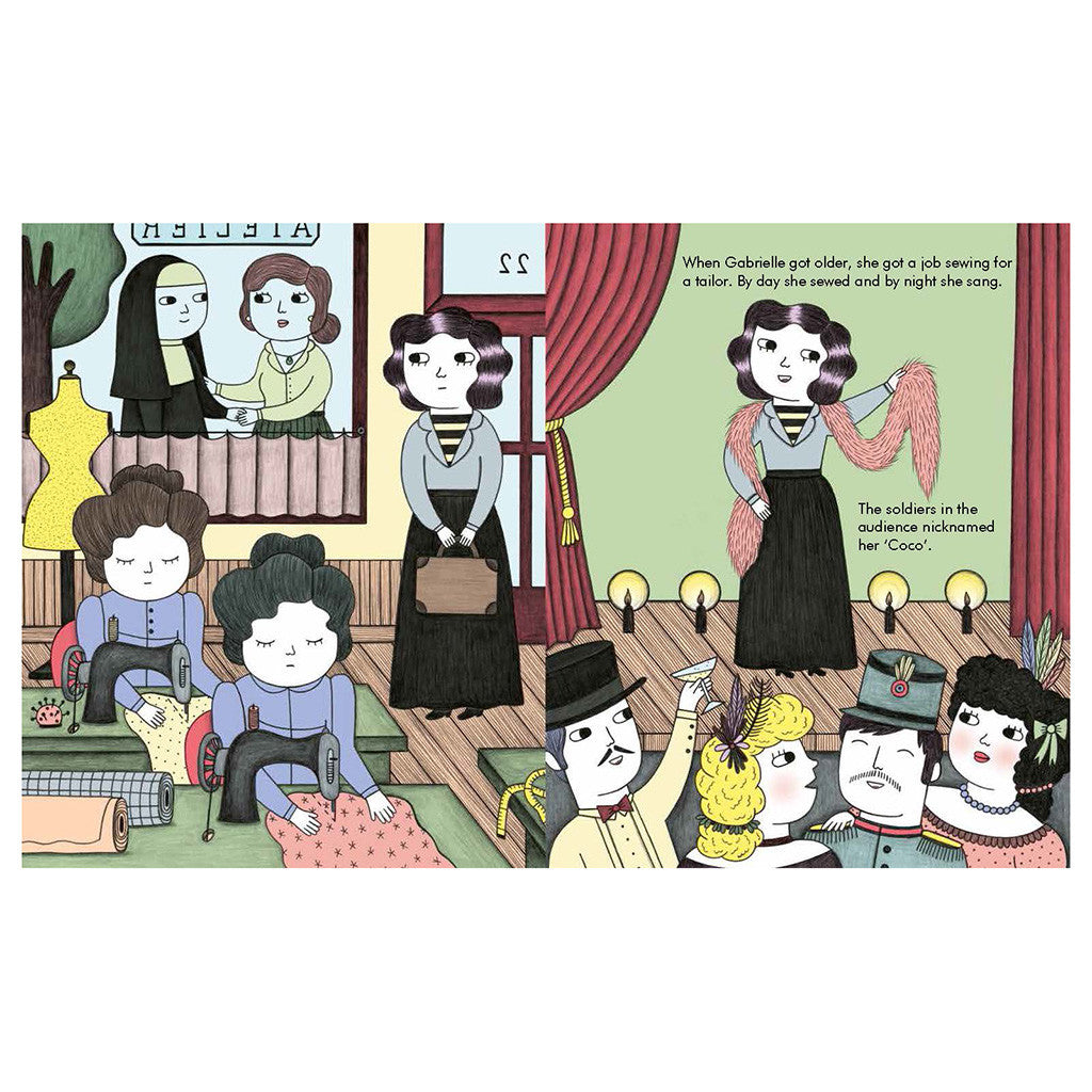 Francis Lincoln Children's Books - Little People, Big Dreams: Coco Chanel - page - alt