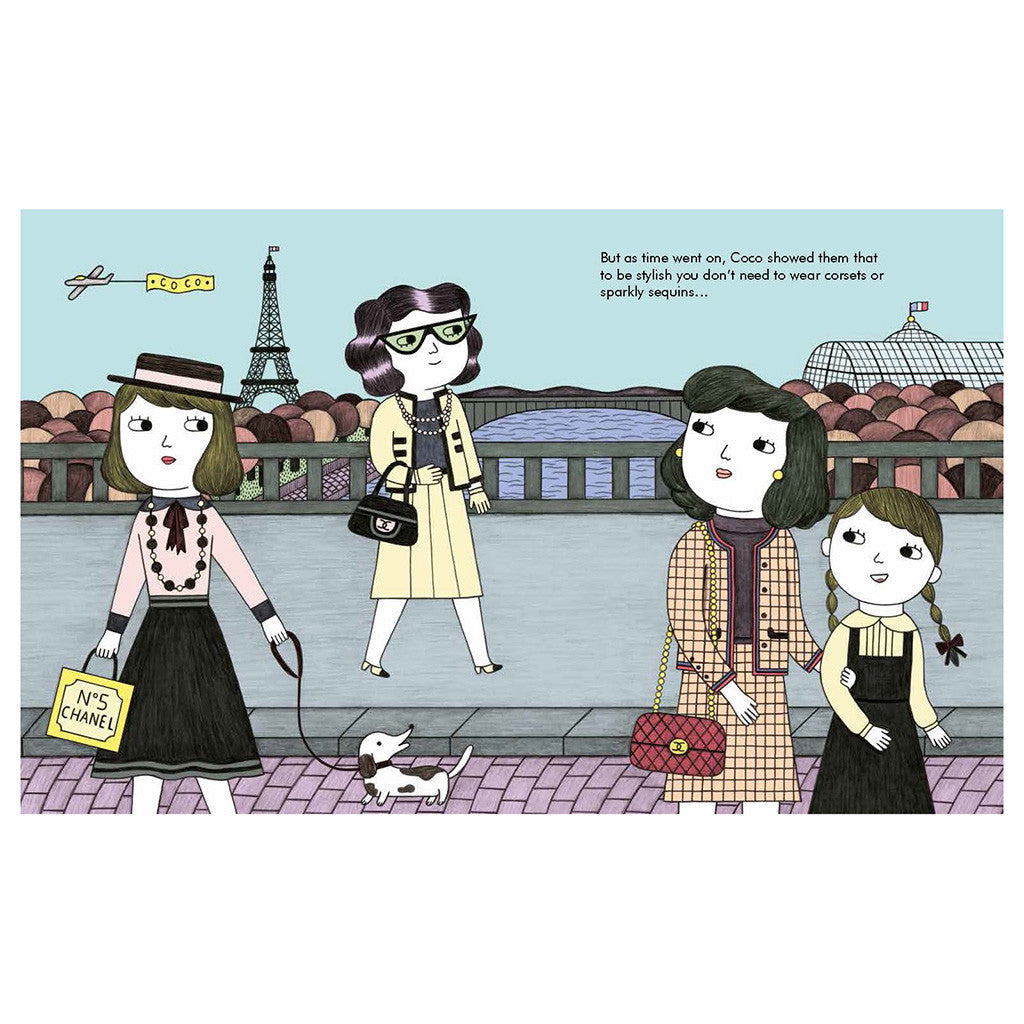 Francis Lincoln Children's Books - Little People, Big Dreams: Coco Chanel - page