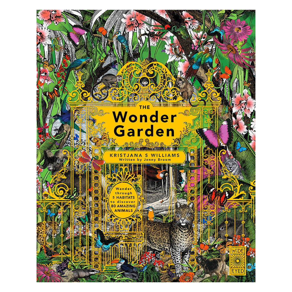 The Wonder Garden - Book Cover
