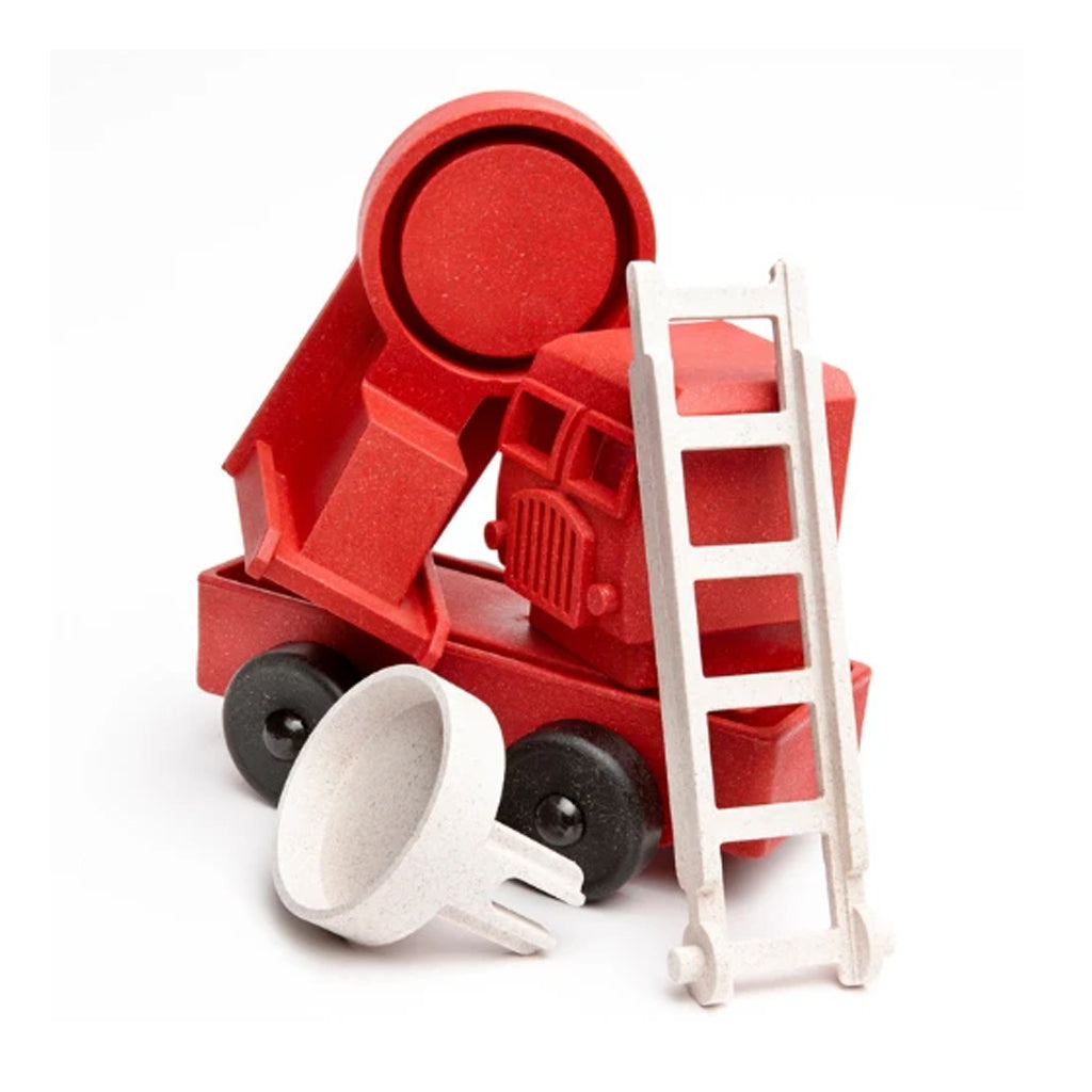 Luke's Toy Factory - Red Fire Truck - Made in the USA | Mapamundi Kids