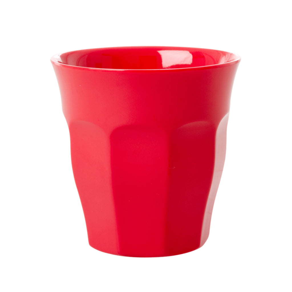 RICE DK - Melamine Solid Cup - Red Kiss | Mapamundi Kids