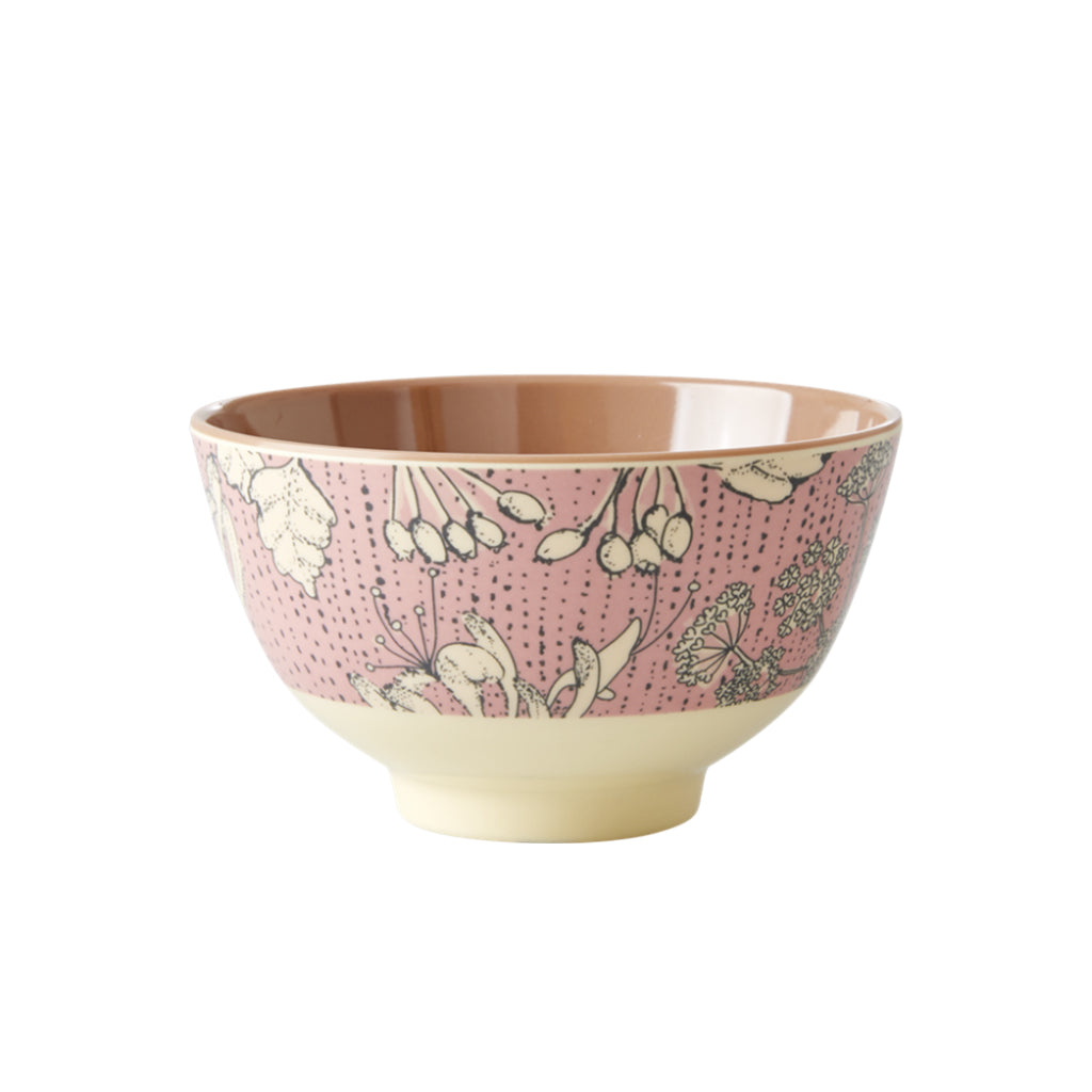 Rice DK - Small Melamine Print Bowl in Wild Chervil - Designed in Denmark