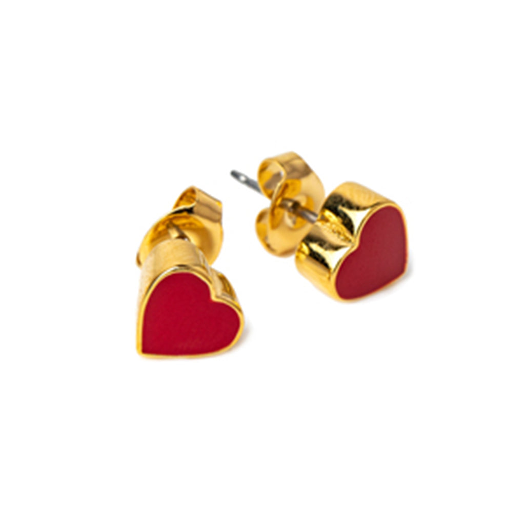 Rosie Bold - Enamel Pierced Stud Earrings | Mapamundi Kids