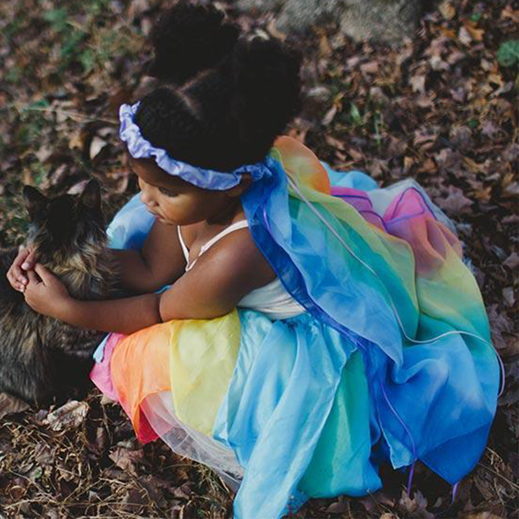 Sarah's Silks - Rainbow Silk Veil - Made in USA | Mapamundi Kids