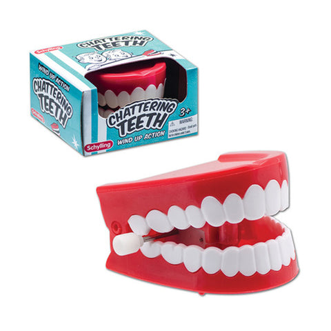 Schylling - Chattering Teeth Wind-Up Toy