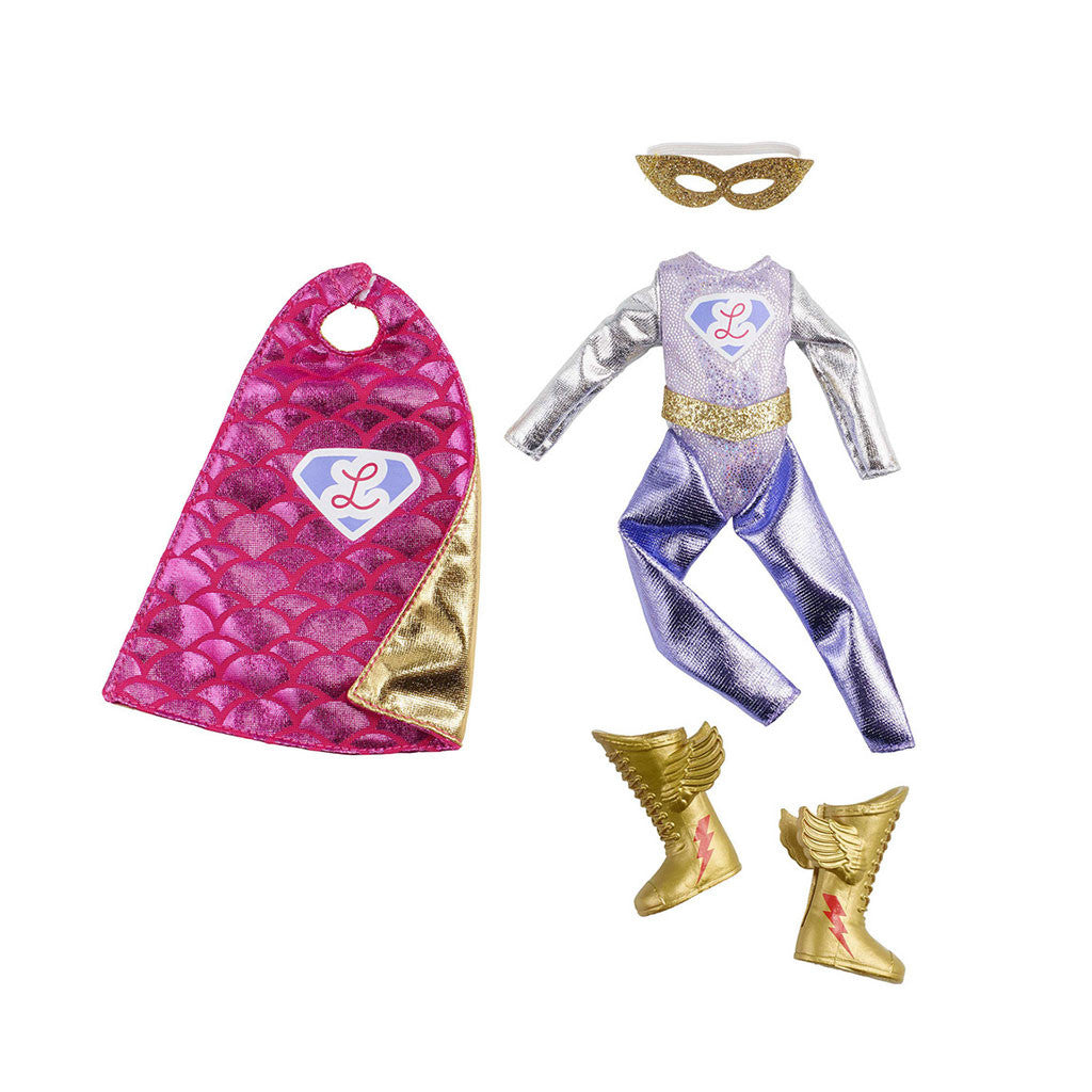 Lottie Super Hero Outfit