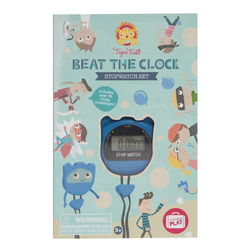 Tiger Tribe - Beat the Clock! Stopwatch Set | Mapamundi Kids