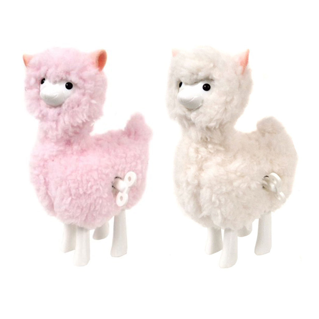 Schylling - Wind Up Fuzzy Walking Llamas