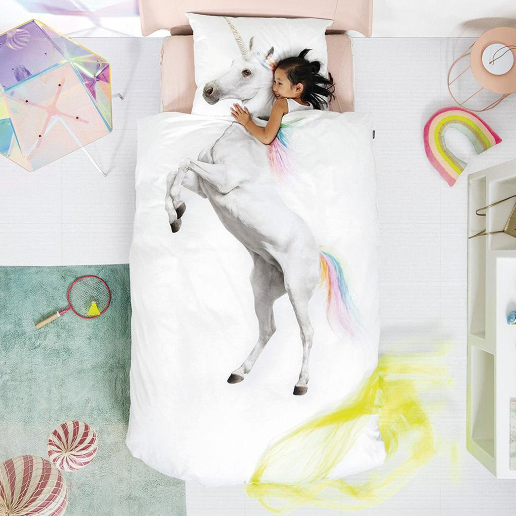 Snurk Living - Unicorn Duvet Cover Set (Twin) - Designed in Holland