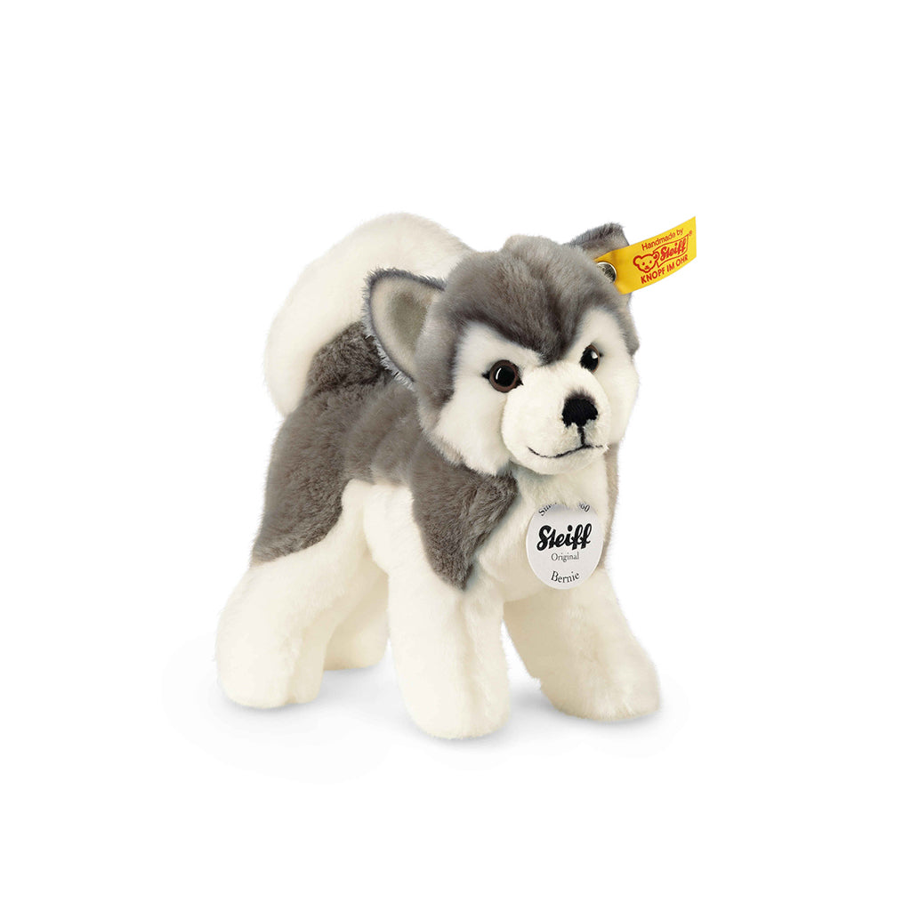 Steiff - Bernie Husky - The Original Teddy Bear Brand | Mapamundi Kids