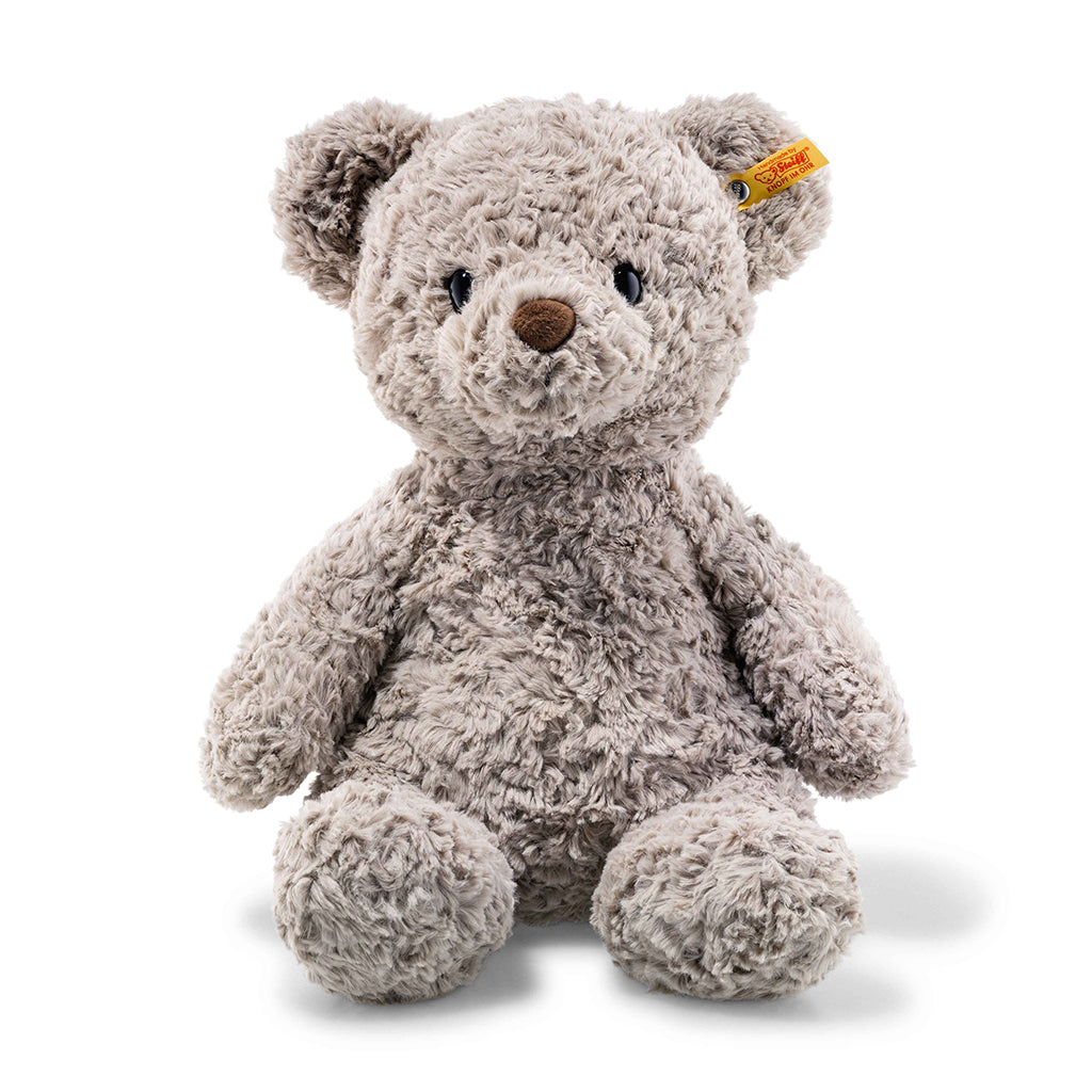 Steiff - Large Honey Teddy Bear in Grey - The Original Teddy Bear Brand