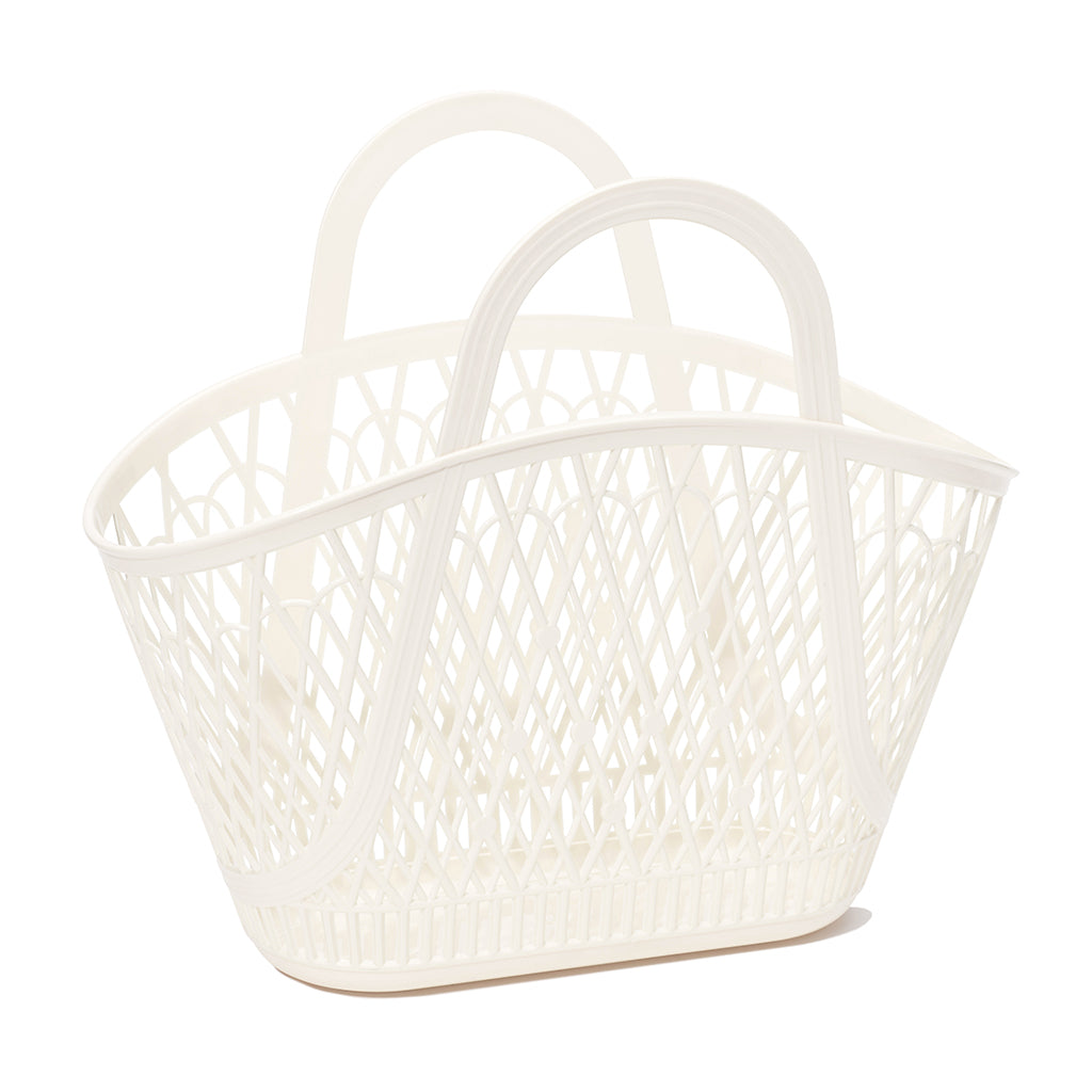 Sun Jellies - Betty Basket in Cream and Latte | Mapamundi Kids