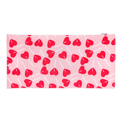 Sunnylife - Kids Towel - BFF Heart Lollipops
