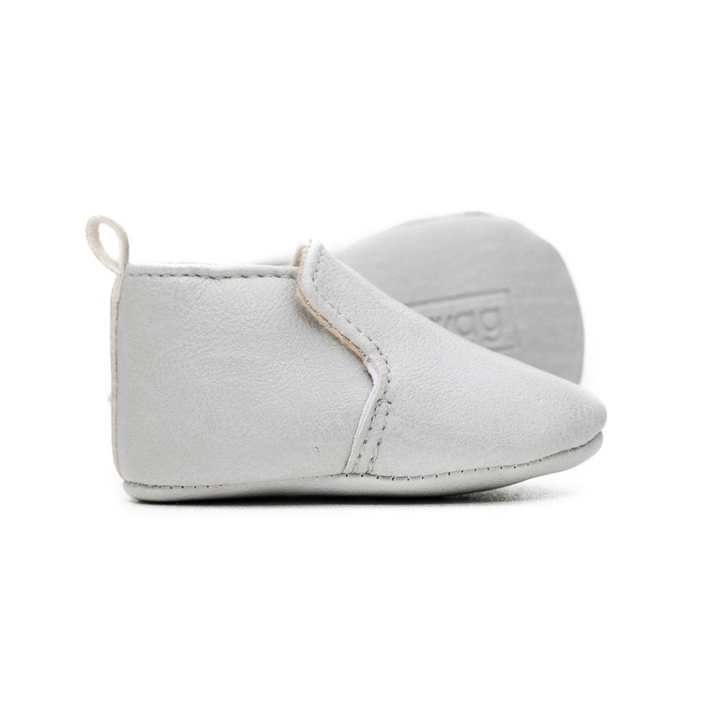 Sweet n Swag - Loafer Mox in Dove Grey - Handmade with Vegan Leather