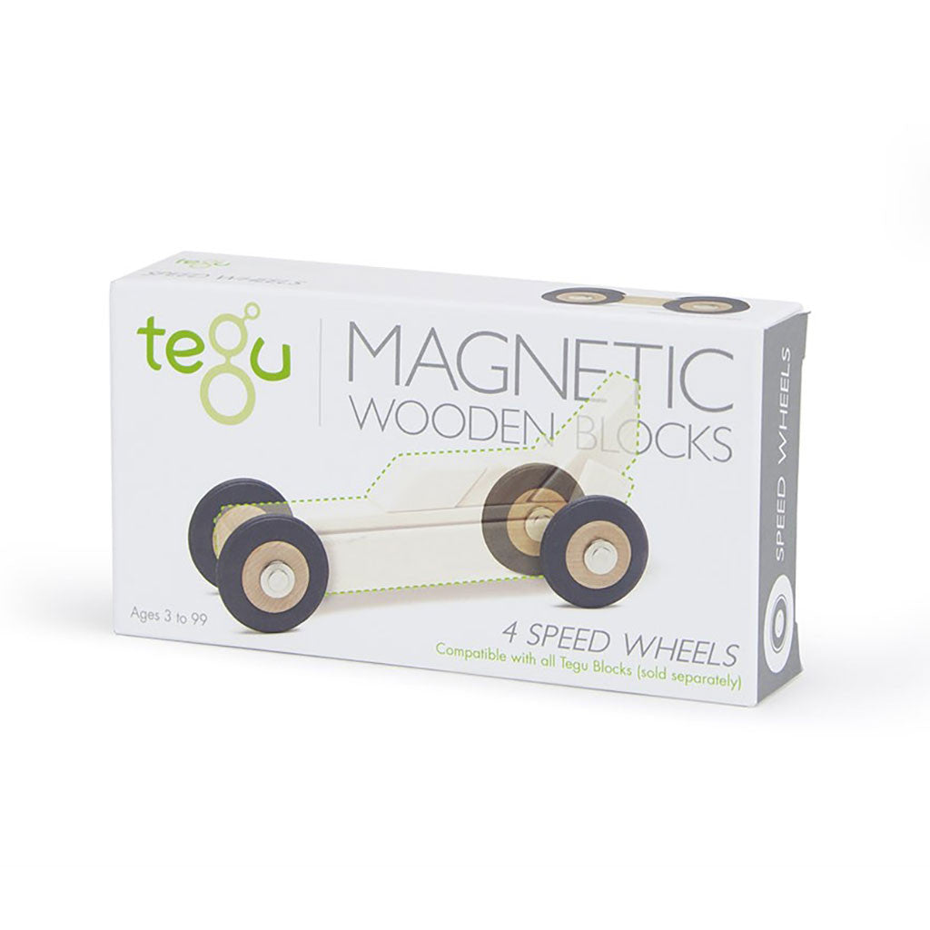 tegu box of 4 speed wheels