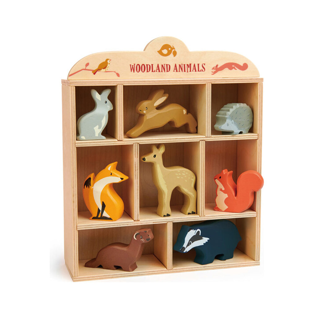 Tender Leaf - Wooden Woodland Animals  | Mapamundi Kids