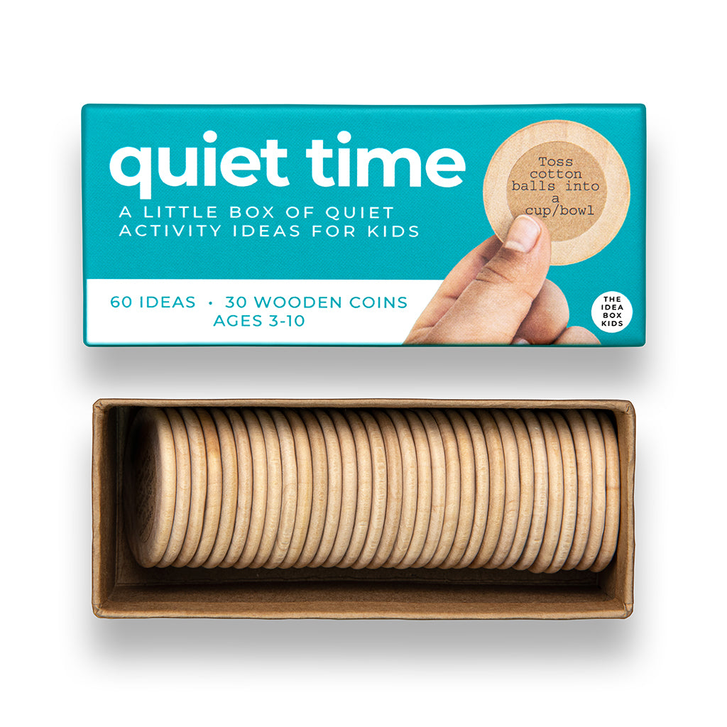 The Idea Box Kids: Quiet Time | Mapamundi Kids