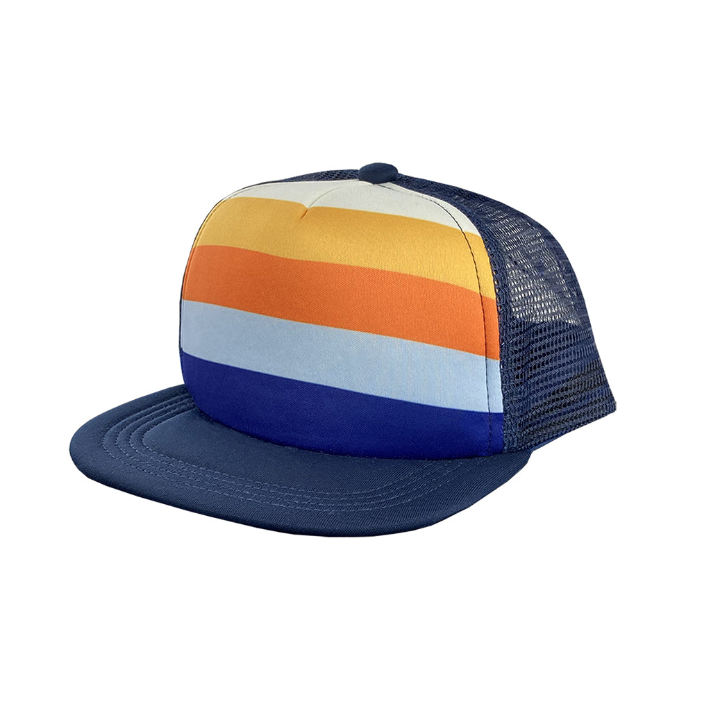 Tiny Whales - The 1976 Trucker Hat - Navy | Mapamundi Kids