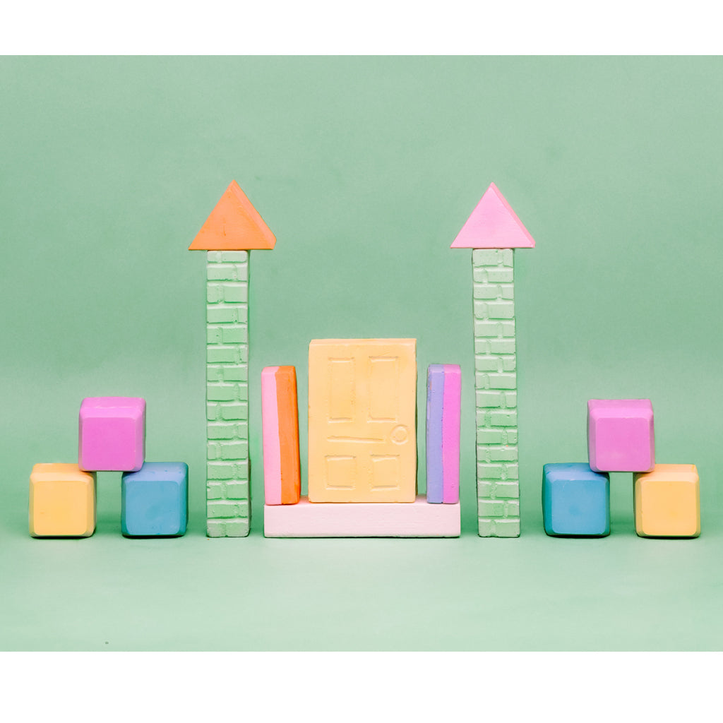 Twee - Carries's Castle Sidewalk Chalk Set - Made in the USA