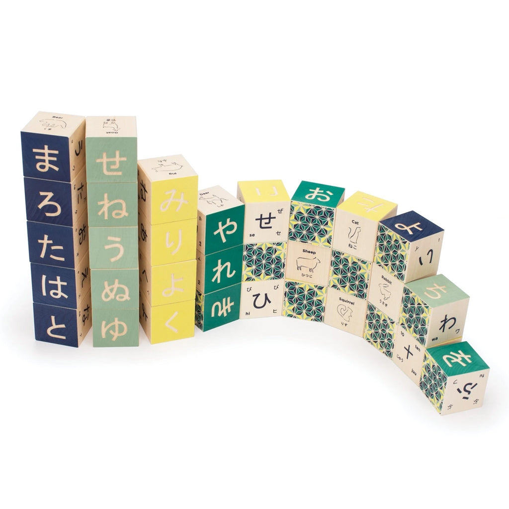 Uncle Goose - Japanese Language Blocks - Made in the US | Mapamundi Kids