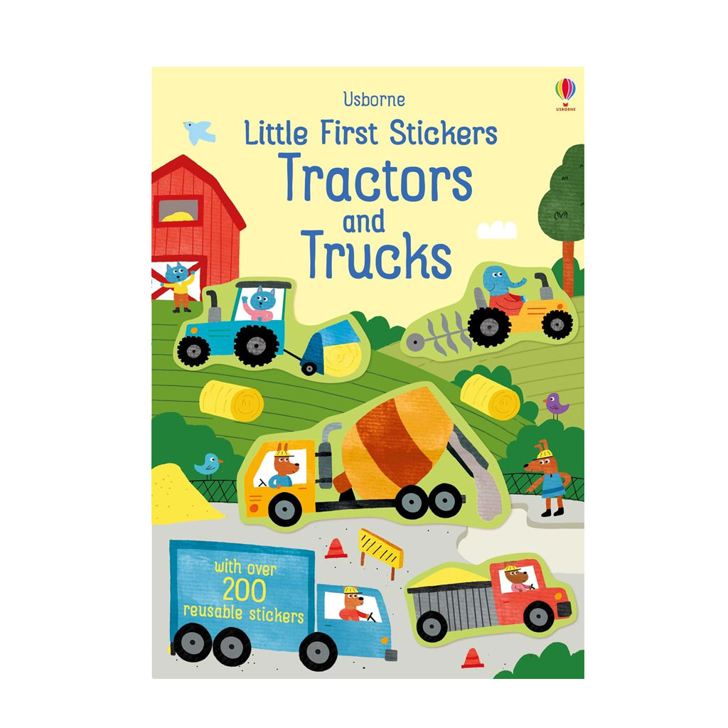 Little Sticker Book: Tractors/Trucks | Usborne