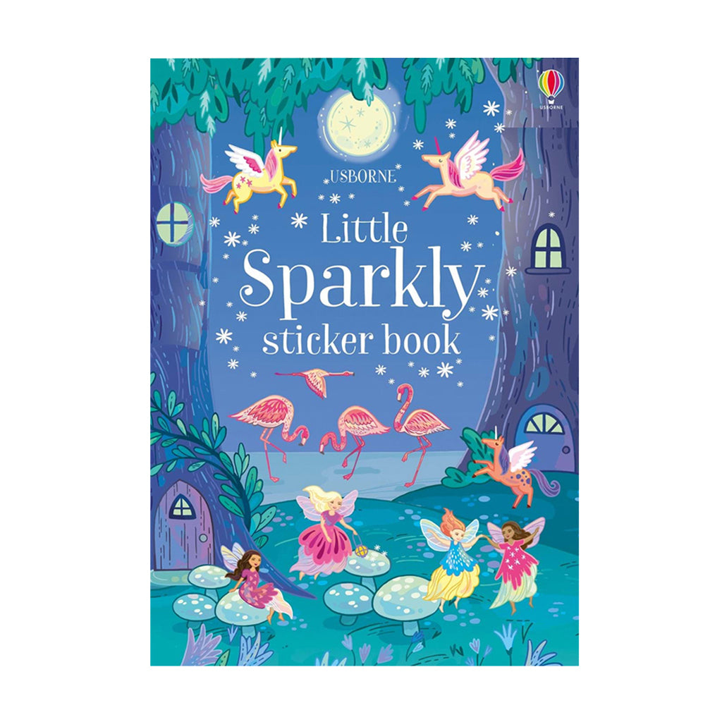 Little Sparkly Sticker Book | Usborne