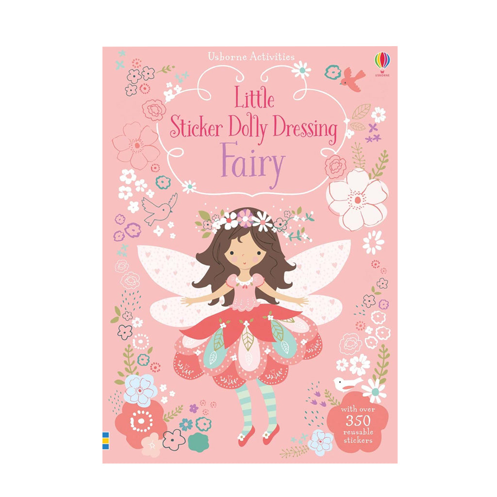 Little Sticker Dolly Dressing: Fairies | Usborne