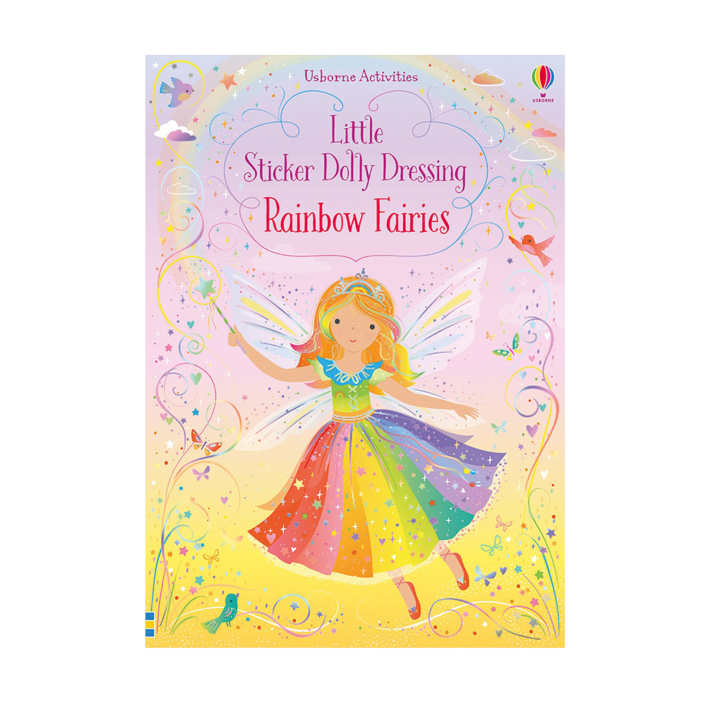 Usborne - Sticker Dolly Dressing: Rainbow Fairies | Mapamundi Kids