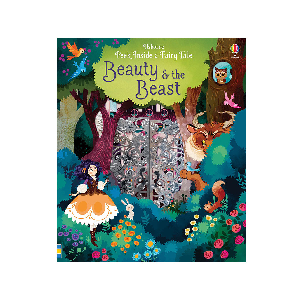 Usborne - Peek Inside a Fairy Tale: Beauty and the Beast | Mapamundi Kids