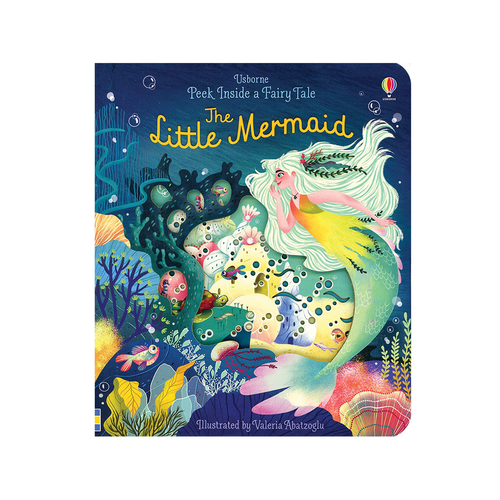 Usborne - Peek Inside a Fairy Tale: The Little Mermaid | Mapamundi Kids