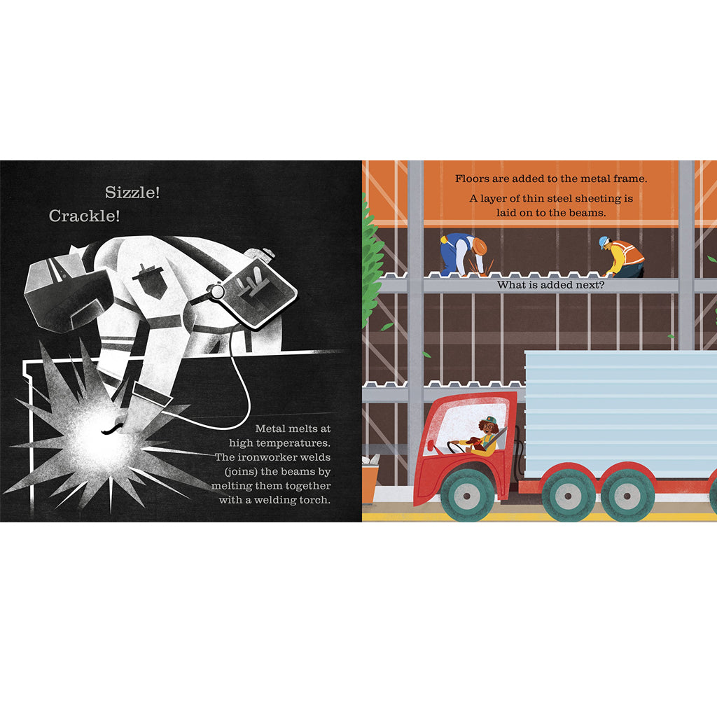 Shine-A-Light: On The Construction Site | Usborne