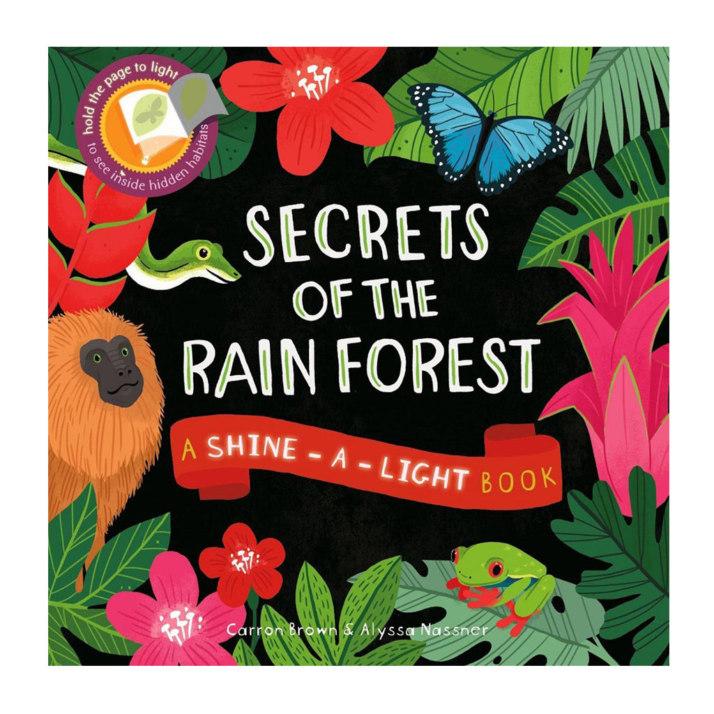 Usborne - Shine-A-Light: Secrets of the Rain Forest | Mapamundi Kids